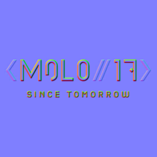 MOLO17's logo as a normal shader map