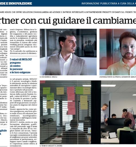 Estratto articolo La Repubblica