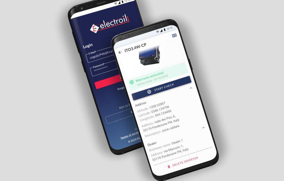 Electroil app